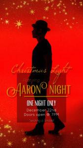 Aaron Night Christmas Concert 2019